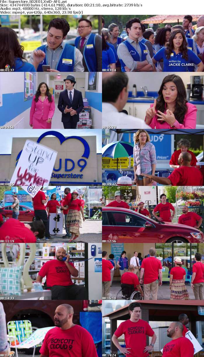 Superstore S02E01 XviD-AFG