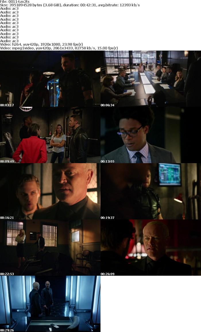 Arrow S04 D01 BD25 Re-Encoded 1080p Blu-ray AVC DTS-HD MA 5 1-SLHD