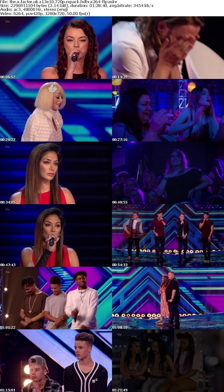 The X Factor UK S13E10 REPACK 720p HDTV x264-FTP