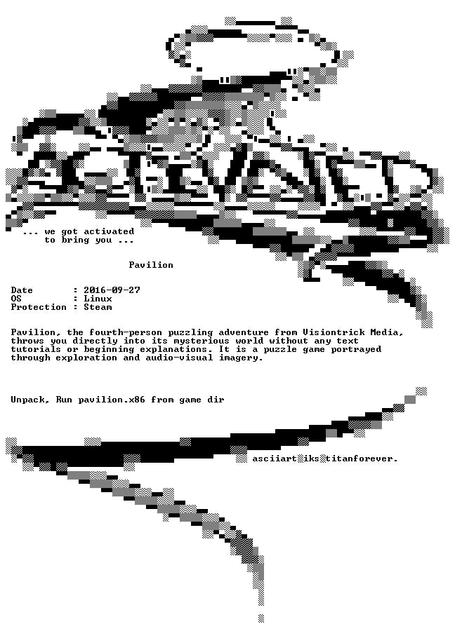 Pavilion Linux-ACTiVATED