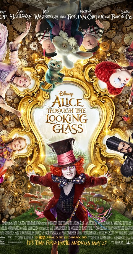 Alice Through the Looking Glass 2016 PAL DVDR-EVO