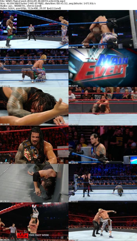 WWE Main Event 2016 09 30 HDTV x264-Ebi
