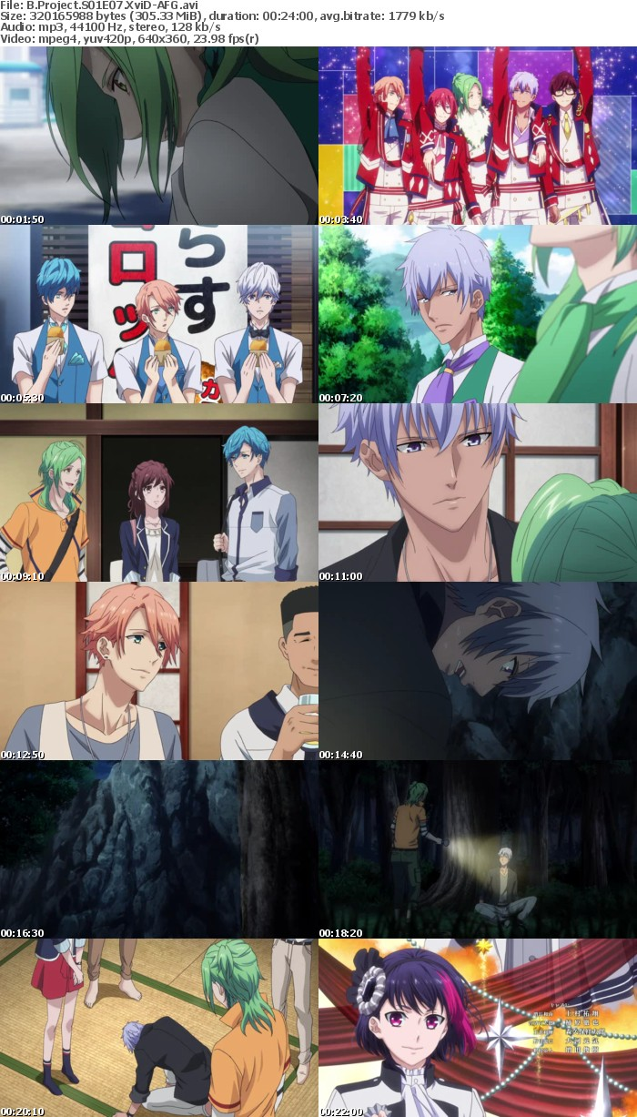 B Project S01E07 XviD-AFG