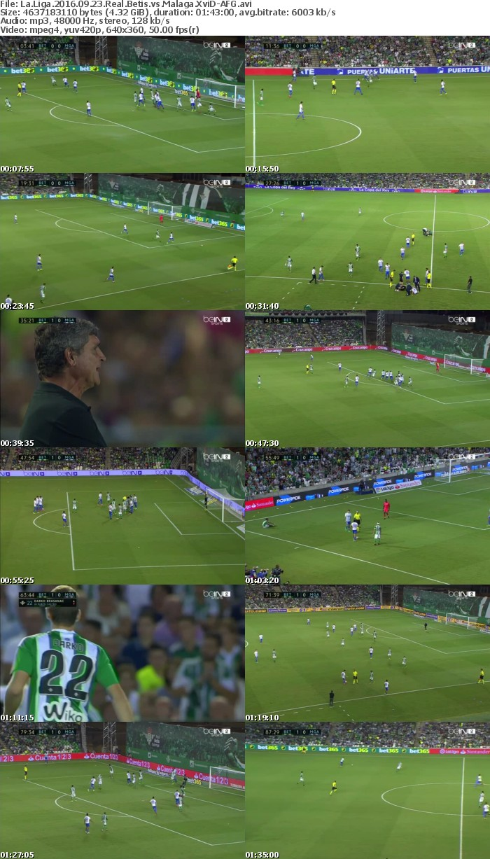 La Liga 2016 09 23 Real Betis vs Malaga XviD-AFG