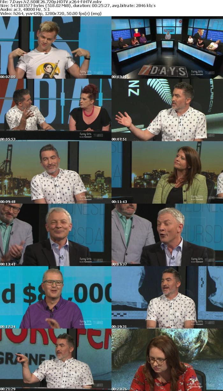 7 Days NZ S08E26 720p HDTV x264-FiHTV