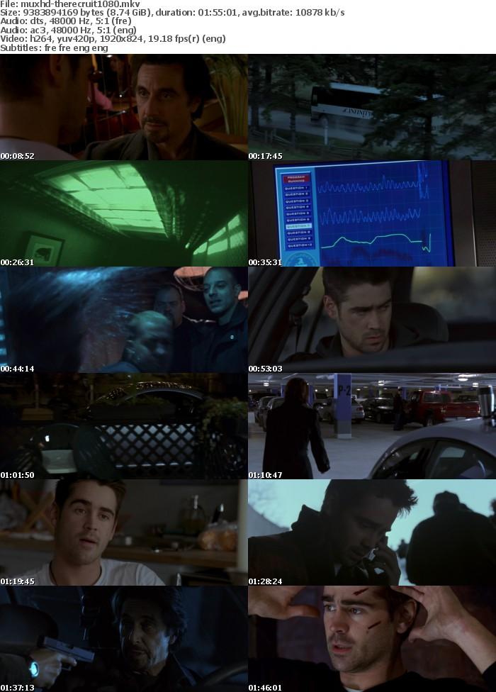 The Recruit 2003 MULTi 1080p BluRay x264 DTS-MUxHD
