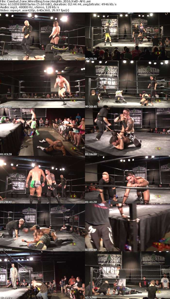 Combat Zone Wrestling New Heights 2016 XviD-AFG