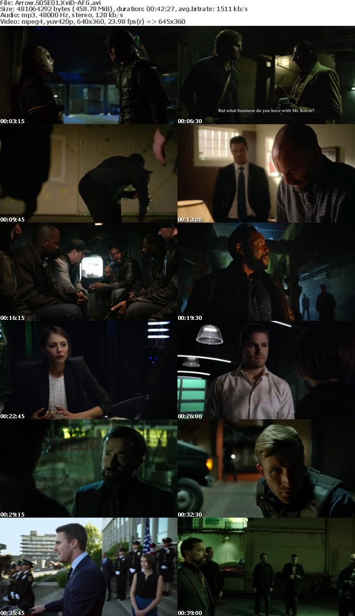 Arrow S05E01 XviD-AFG