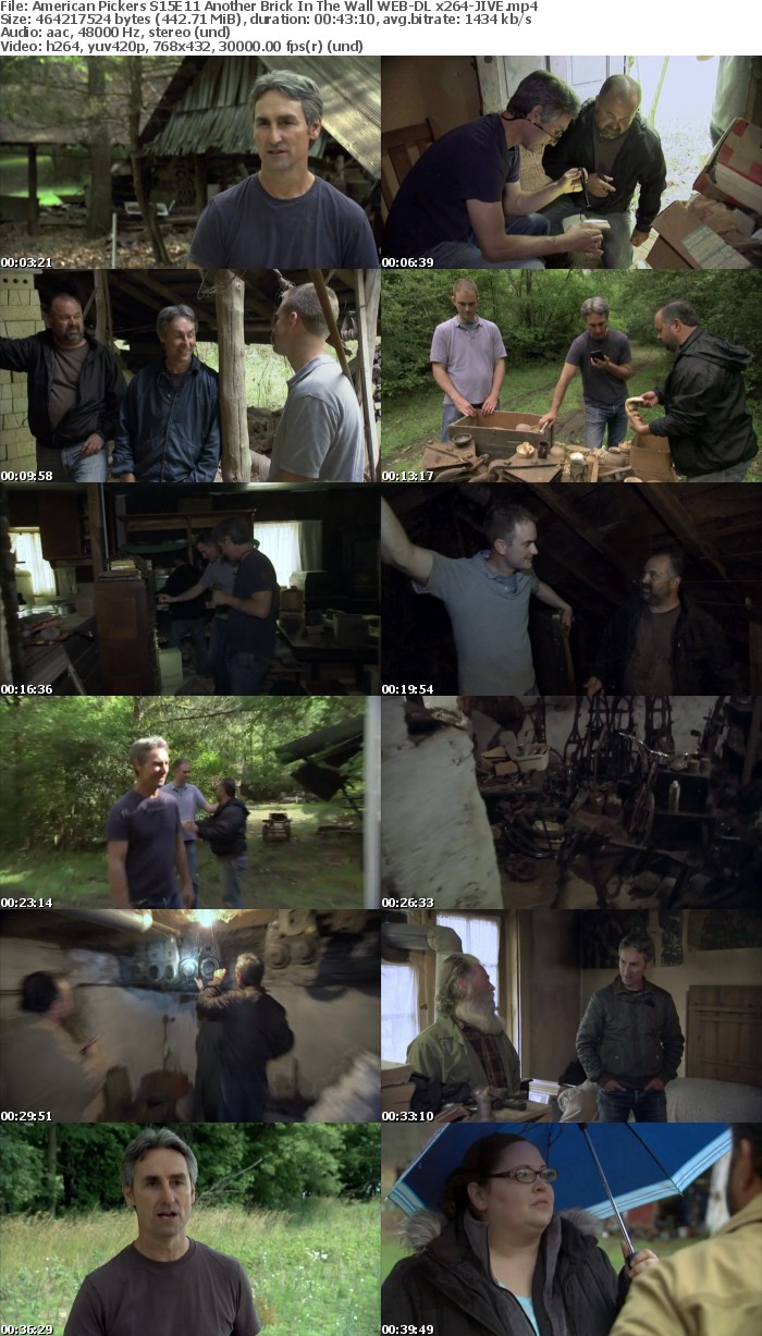 American Pickers S15E11 Another Brick In The Wall WEB-DL x264-JIVE