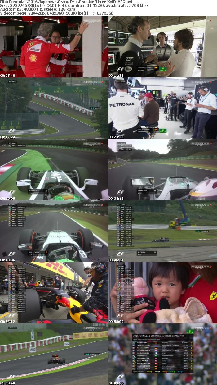 Formula1 2016 Japanese Grand Prix Practice Three XviD-AFG