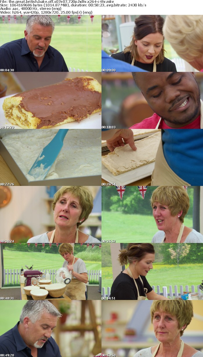 The Great British Bake Off S07E07 720p HDTV x264-C4TV