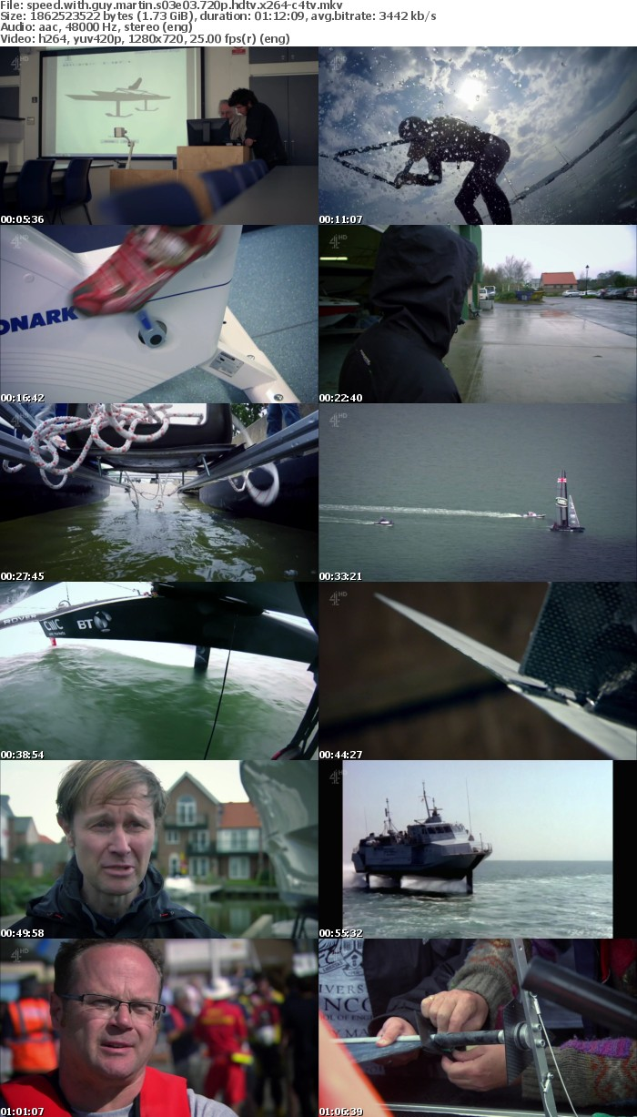 Speed With Guy Martin S03E03 720p HDTV x264-C4TV