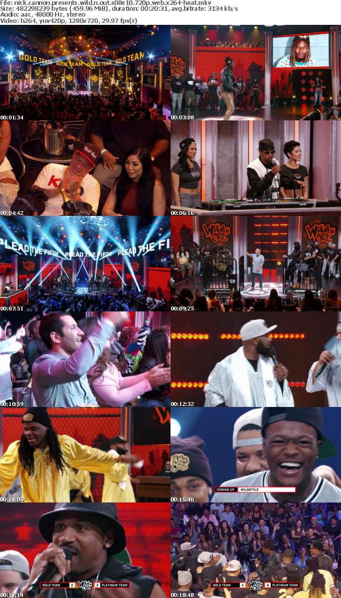 Nick Cannon Presents Wild N Out S08E10 720p WEB x264-HEAT