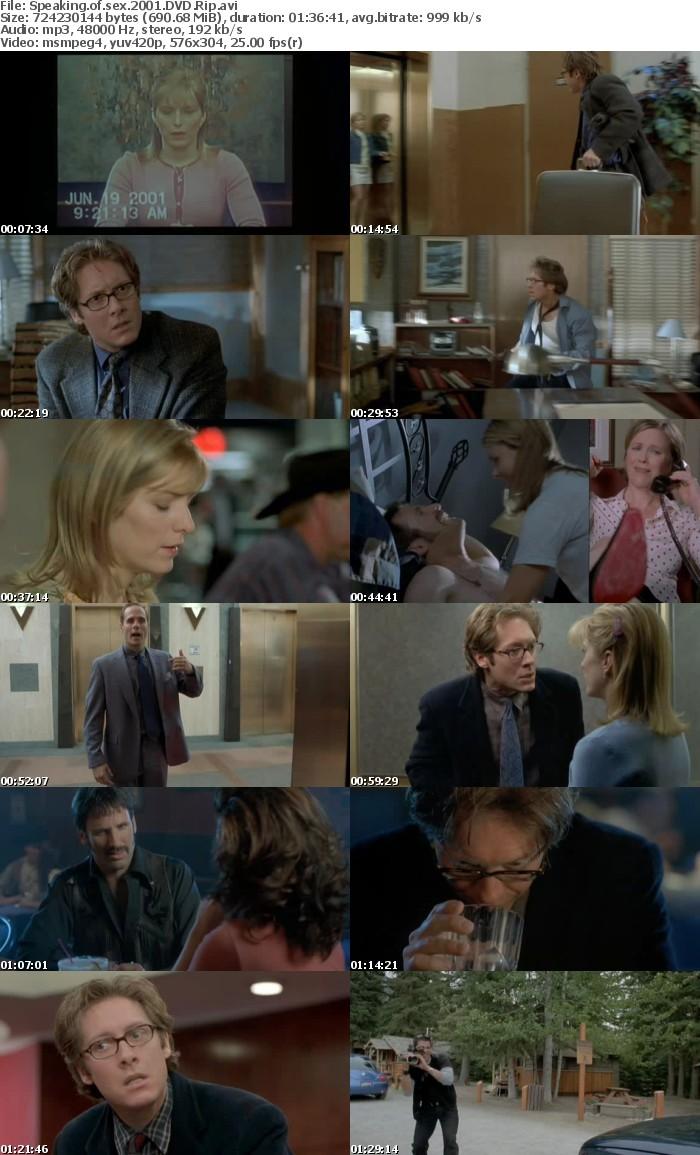 Speaking Of Sex (2001) DVD Rip