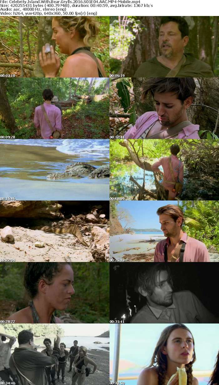 Celebrity Island With Bear Grylls 2016 S01E04 AAC-Mobile