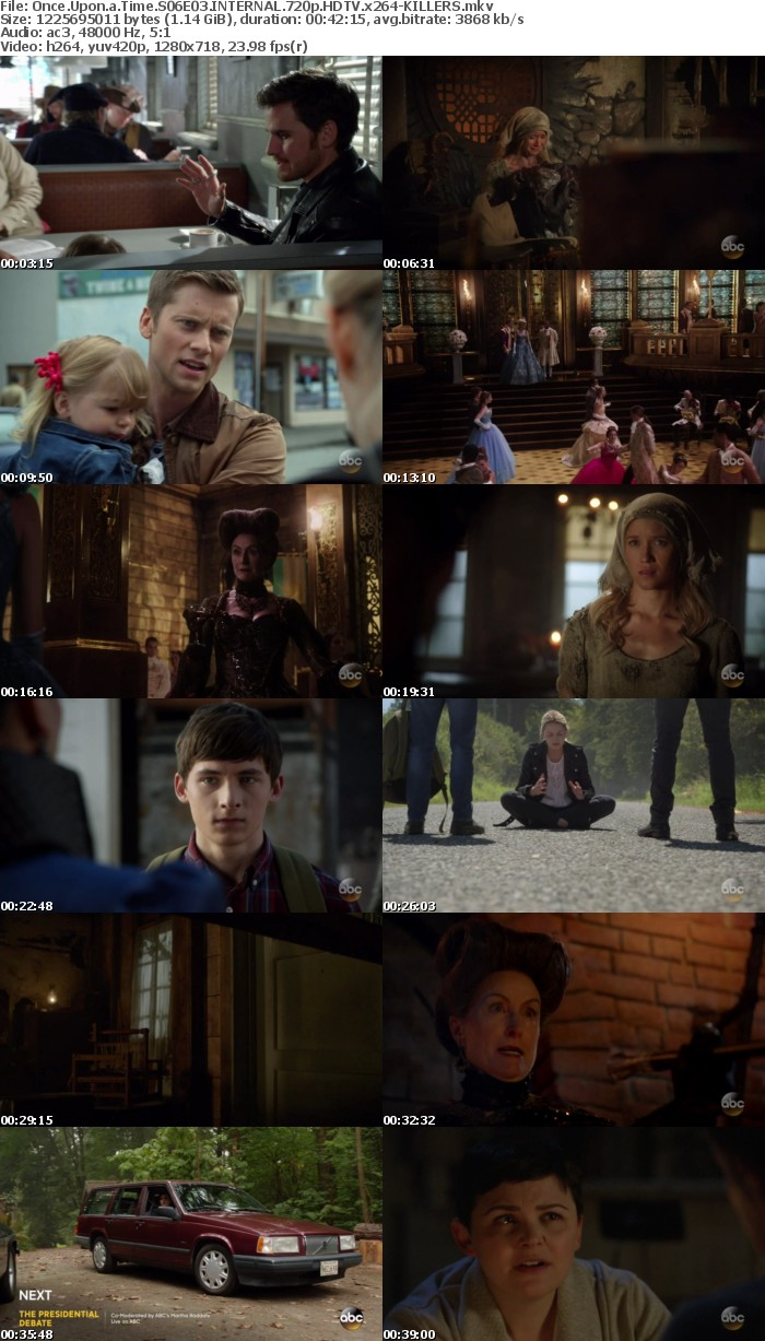 Once Upon a Time S06E03 INTERNAL 720p HDTV x264-KILLERS