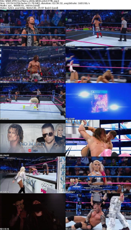 WWE PPV No Mercy 2016 WEB x264-FMN