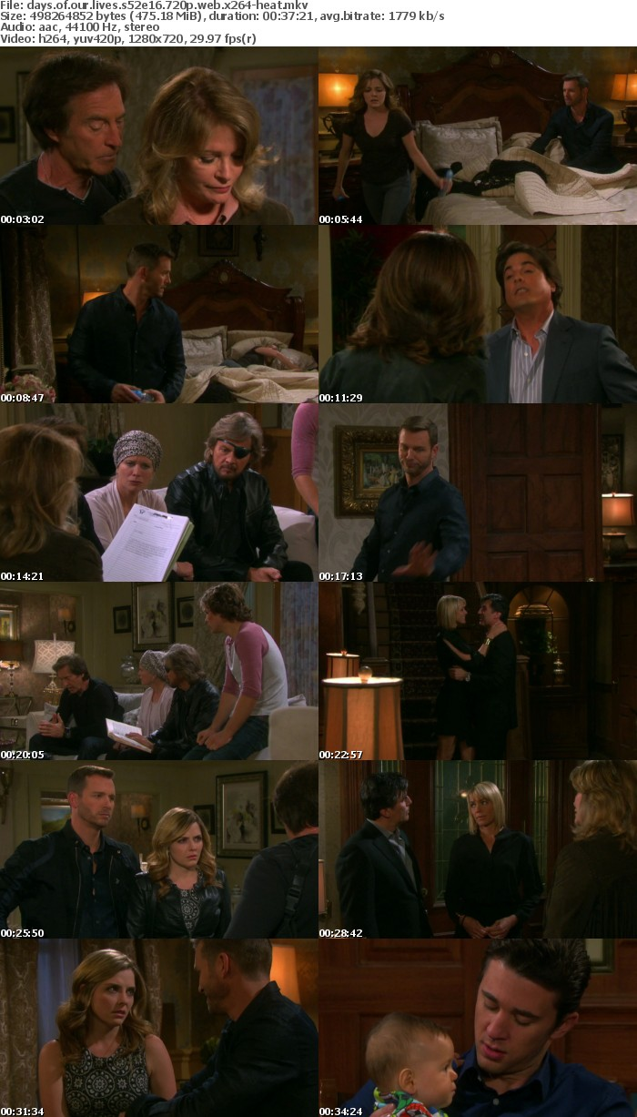 Days of our Lives S52E16 720p WEB x264-HEAT