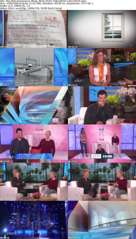 The Ellen DeGeneres Show 2016 10 05 720p HDTV x264-FiHTV