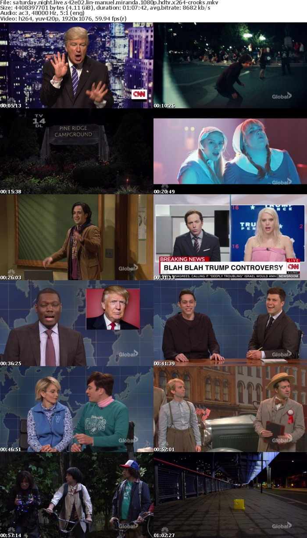 Saturday Night Live S42E02 Lin-Manuel Miranda 1080p HDTV x264-CROOKS