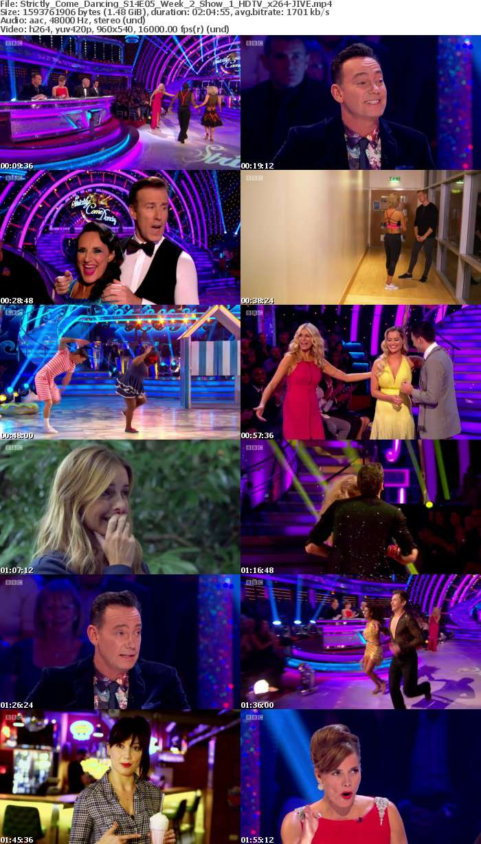 Strictly Come Dancing S14E05 Week 2 Show 1 HDTV x264 JIVE