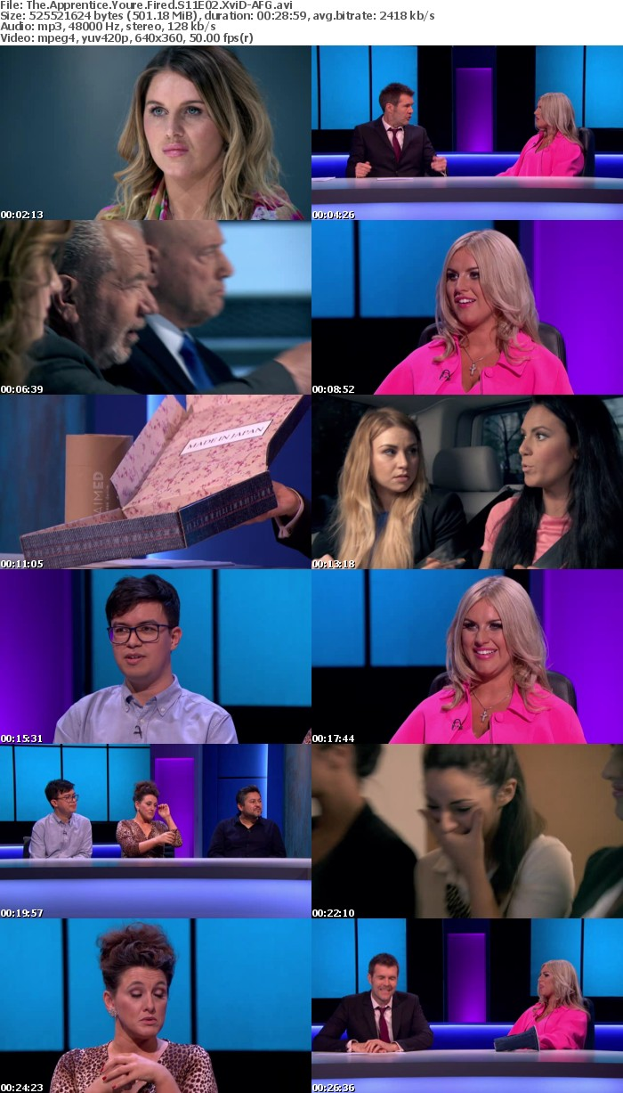 The Apprentice Youre Fired S11E02 XviD-AFG