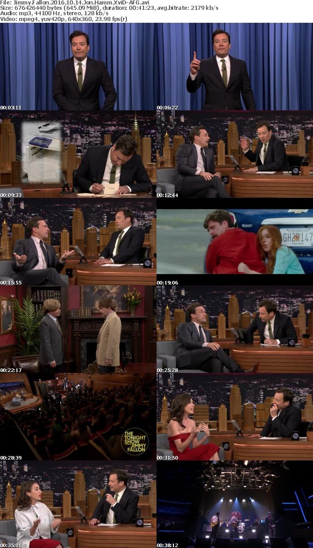 Jimmy Fallon 2016 10 14 Jon Hamm XviD-AFG