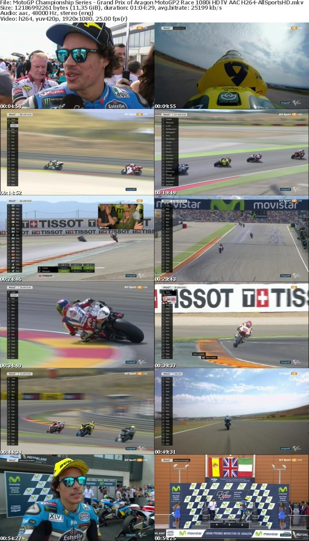 MotoGP Championship Series - Grand Prix of Aragon MotoGP2 Race 1080i HDTV AAC H264-AllSportsHD