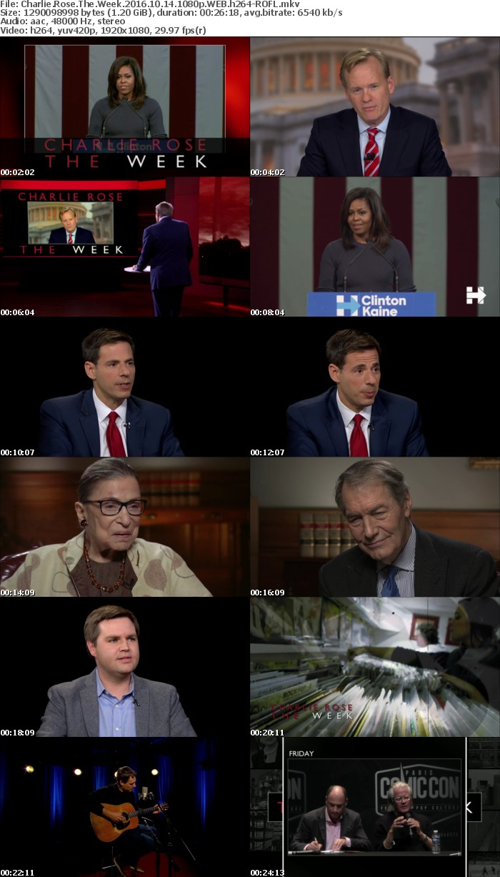 Charlie Rose The Week 2016 10 14 1080p WEB h264-ROFL
