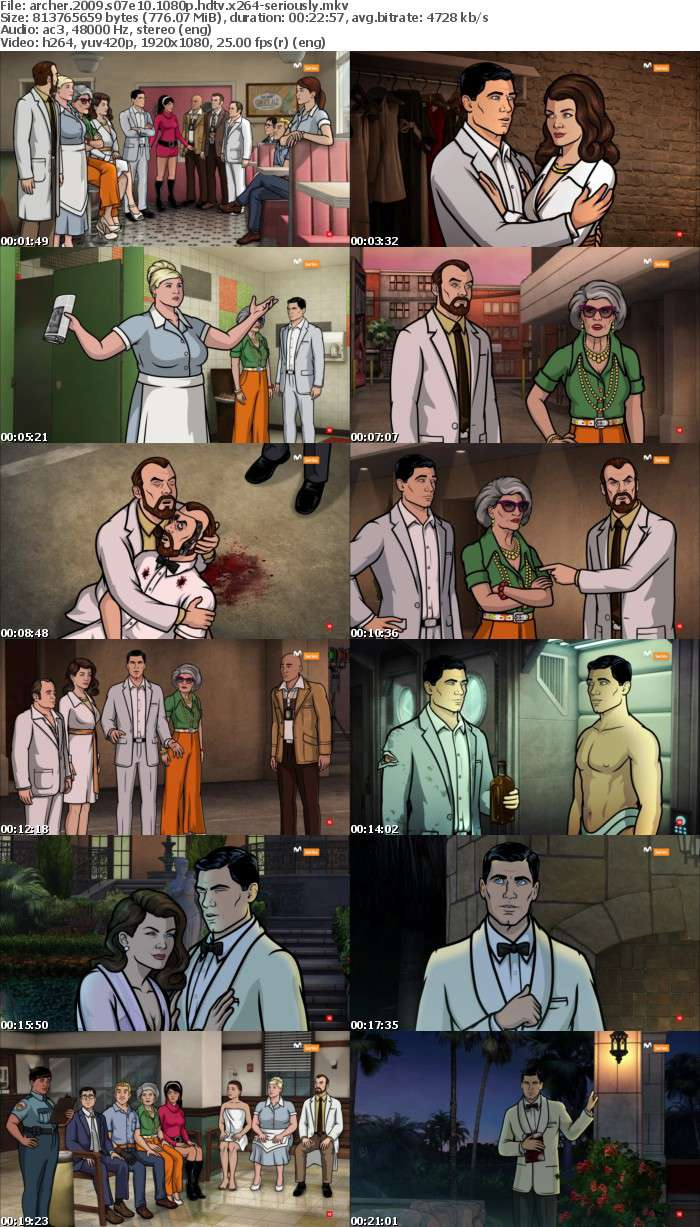 Archer 2009 S07E10 1080p HDTV x264-SERIOUSLY