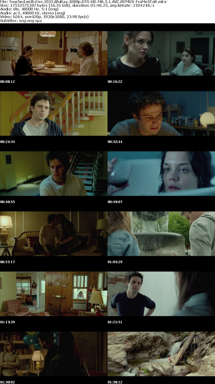 Touched with Fire 2015 BluRay 1080p DTS-HD MA 5 1 AVC REMUX-FraMeSToR