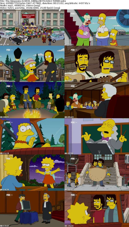 The Simpsons S22E01 1080p HDTV H264-TURBO