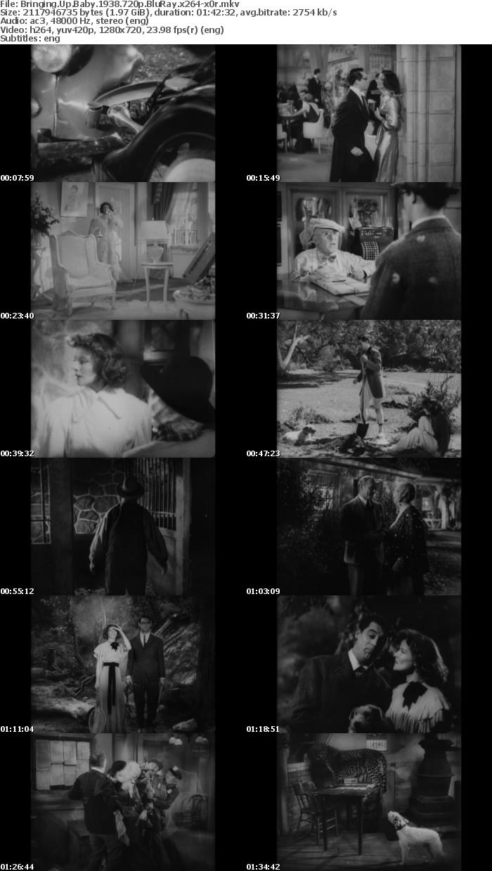 Bringing Up Baby 1938 720p BluRay x264 x0r