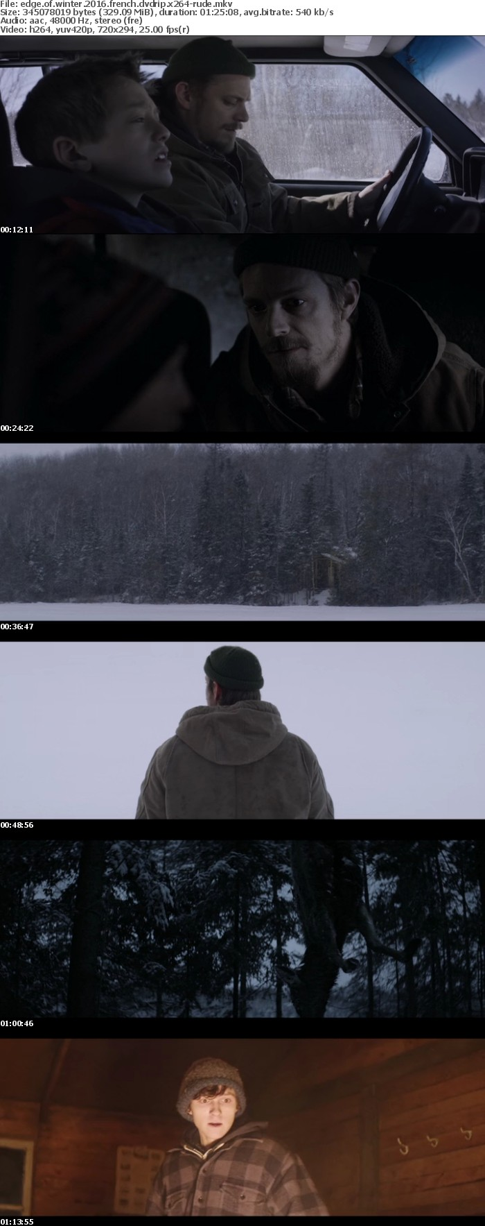 Edge Of Winter 2016 FRENCH DVDRip x264-RUDE