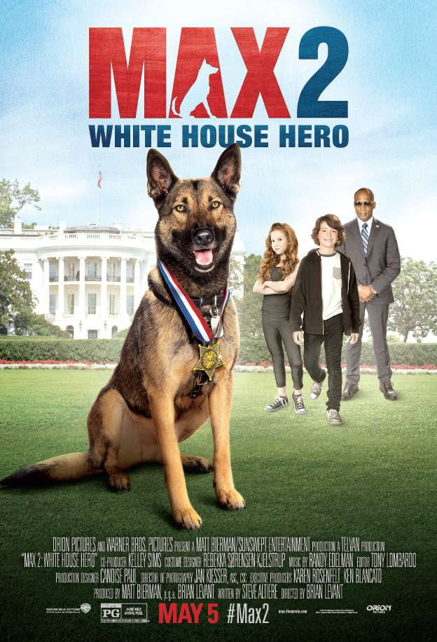 Max 2 White House Hero 2017 DVDRip XViD mp4