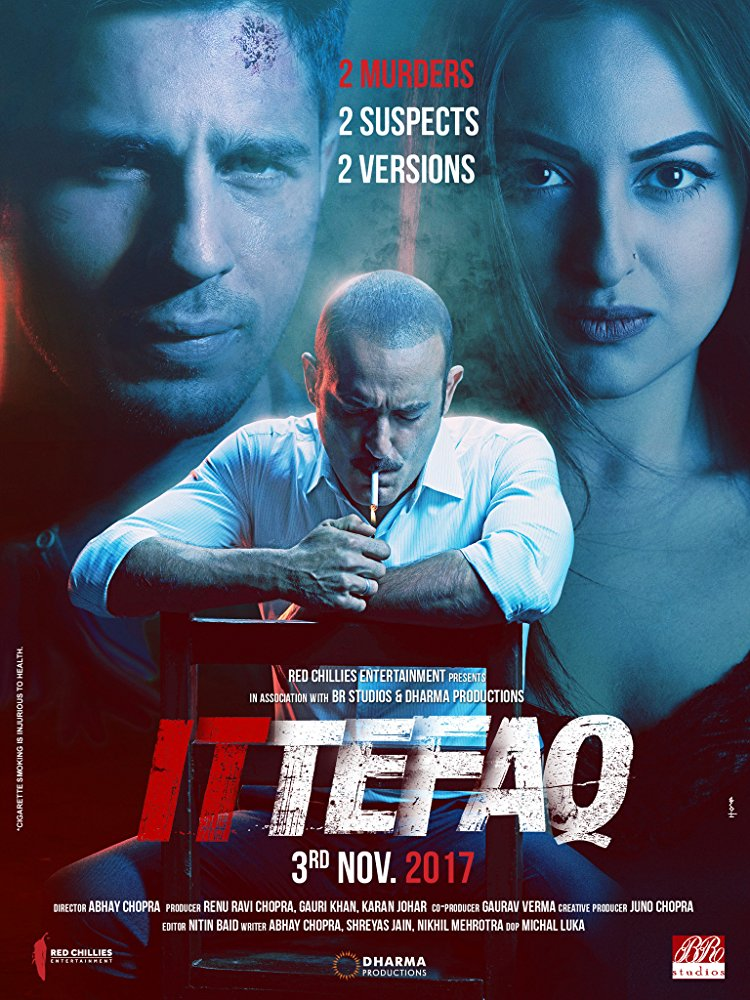 Ittefaq 2017 Hindi 1CD DVDRip x264 ESubs - LOKI - M2Tv