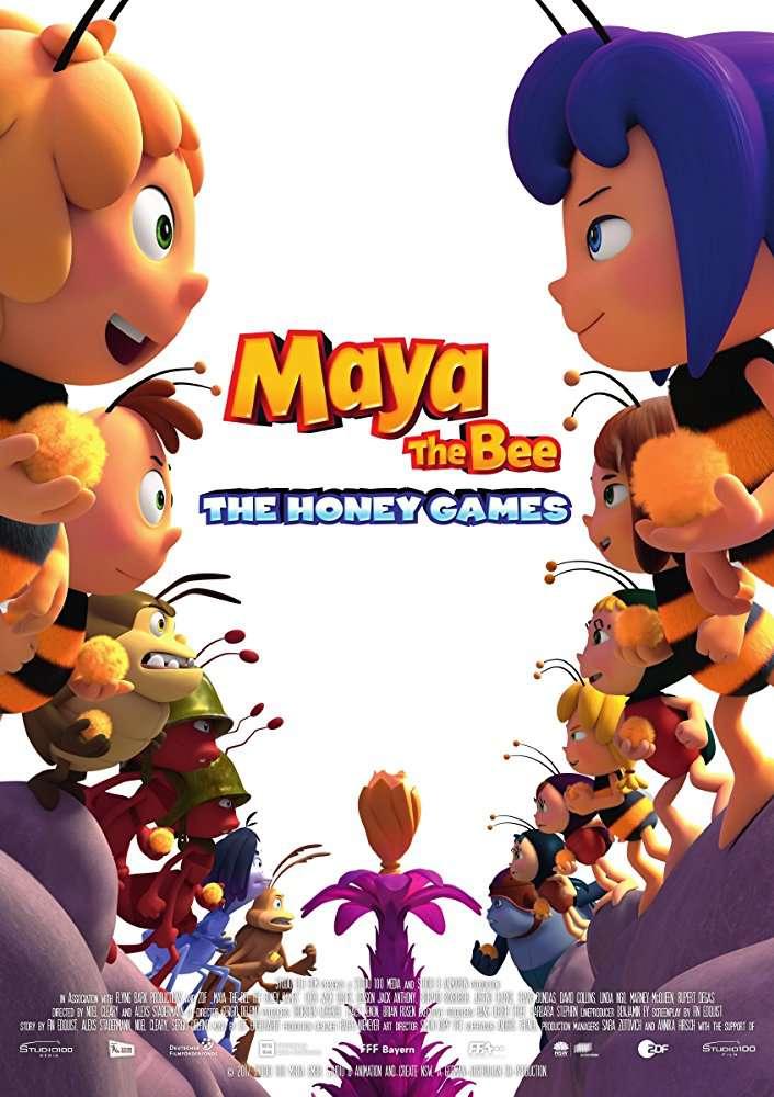 Maya The Bee The Honey Games 2018 720p BluRay x264-ROVERS