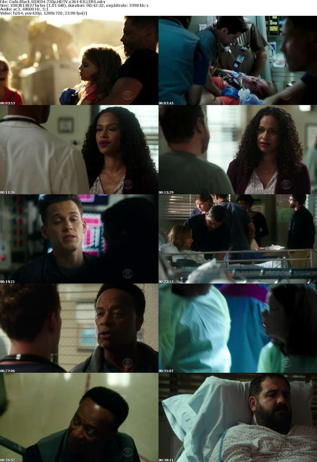 Code Black S03E04 720p HDTV x264-KILLERS