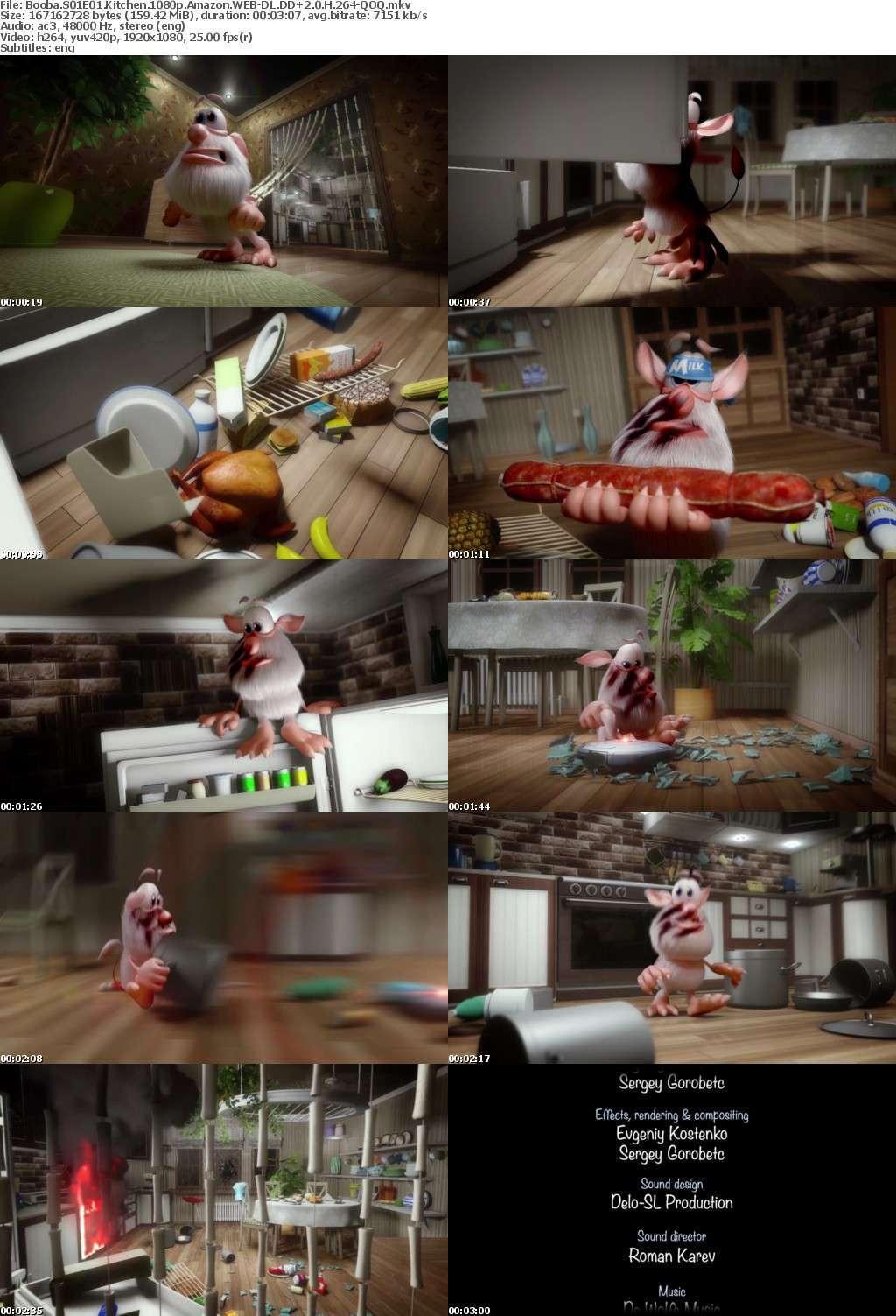 Booba S01E01 Kitchen 1080p Amazon WEB-DL DD+2 0 H 264-QOQ