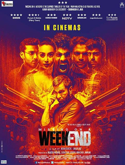 Missing on a Weekend (2016) Hindi 720p DVDRip ESubs-DLW