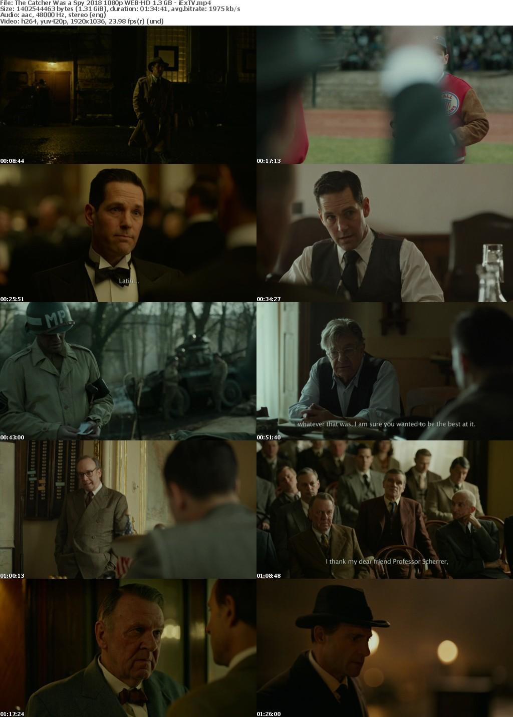 The Catcher Was a Spy (2018) 1080p WEB-HD 1 3 GB - iExTV