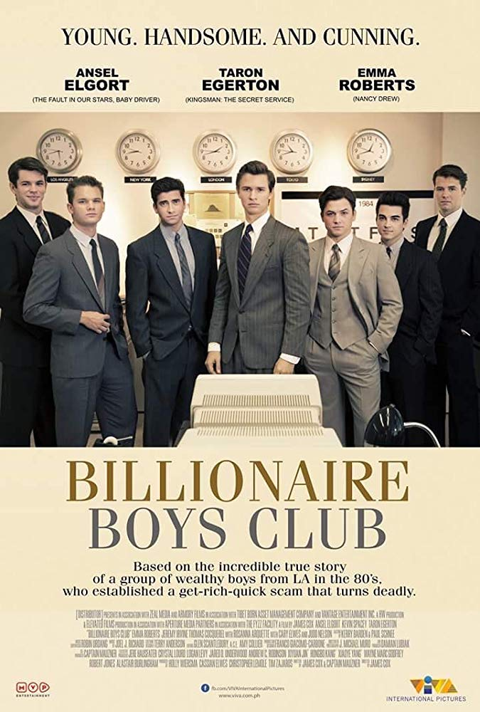 Billionaire Boys Club (2018) HDRip XviD AC3-EVO