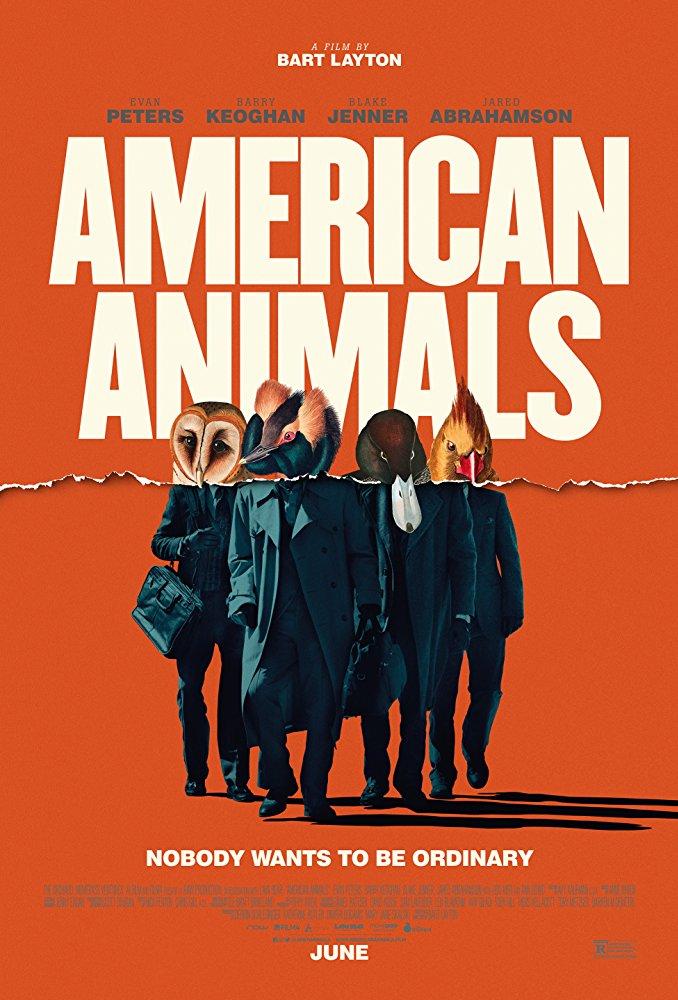 American Animals 2018 HDRip XviD AC3-EVO