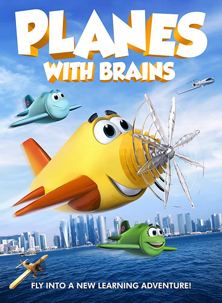 Planes with Brains (2018) HDRip AC3 X264-CMRG