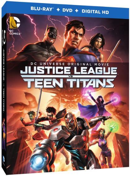 Justice League vs Teen Titans (2016) 720p BRRip x264 AAC-ETRG