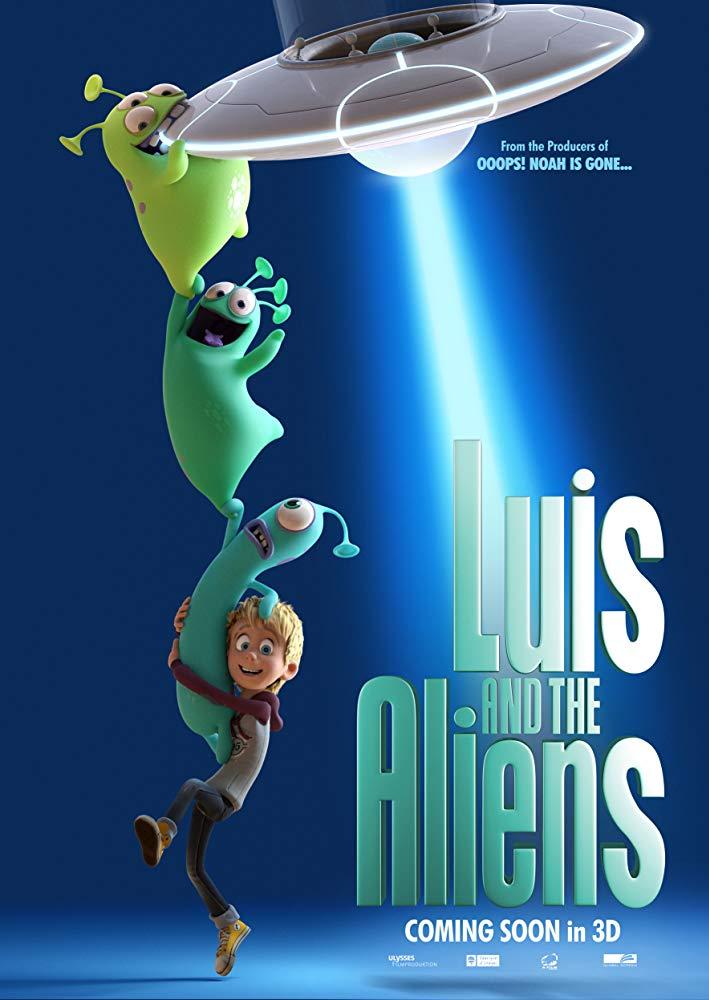 Luis and the Aliens (2018) BRRip AC3 X264-CMRG