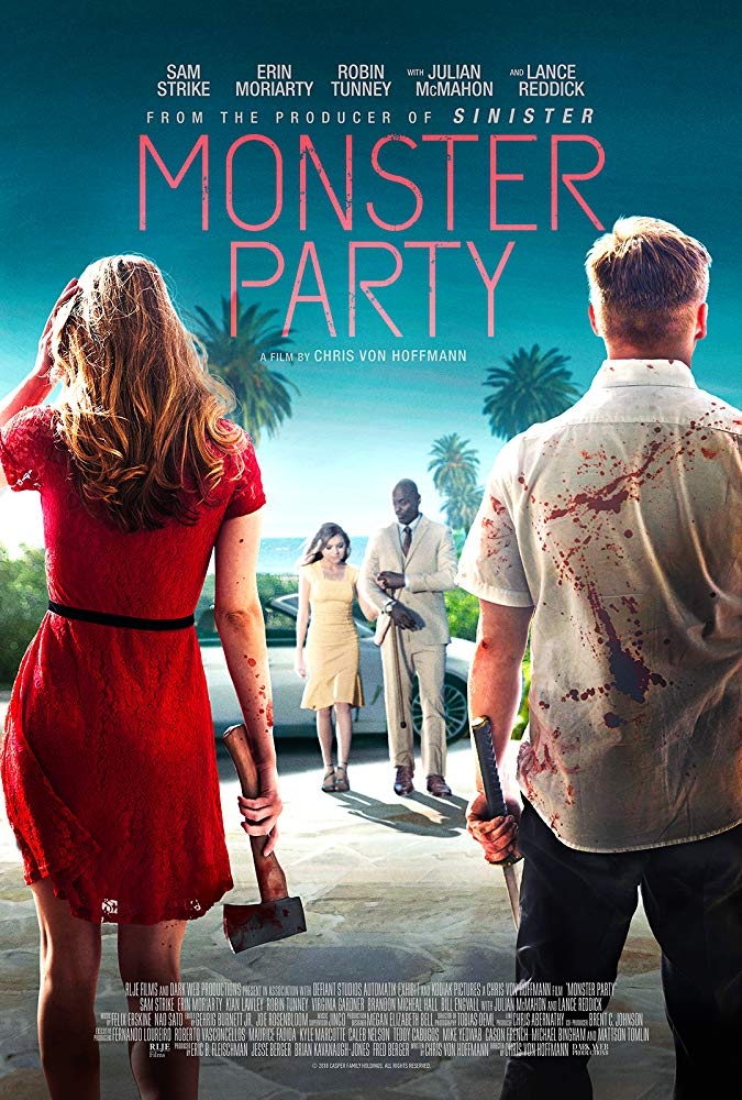 Monster Party (2018) 1080p WEB-DL H264 AC3-EVO