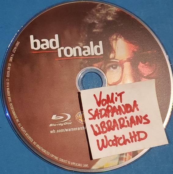 Bad Ronald 1974 720p BluRay x264-SADPANDA