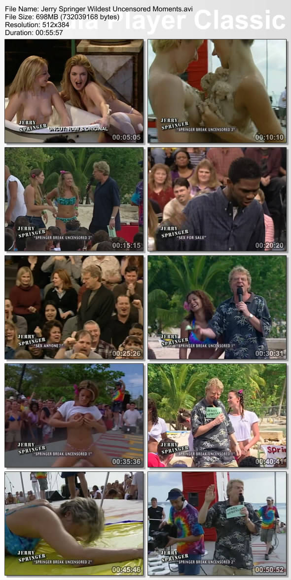 from Finley jerry springer uncensored jerry beads