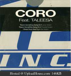 CO.RO ft. Taleesa - There's something going on(1993)